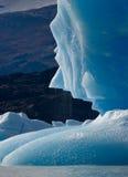 Iceberg na água, a geleira Perito Moreno argentina Imagem de Stock