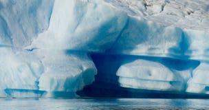Iceberg na água, a geleira Perito Moreno argentina Fotos de Stock