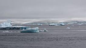 Iceberg na Antártica Fotos de Stock Royalty Free