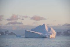 Iceberg na Antártica imagem de stock