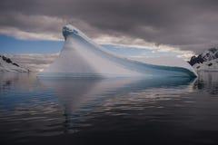 Iceberg na Antártica fotografia de stock