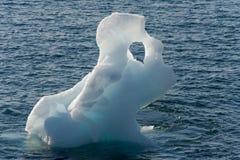Iceberg nel fiordo di Nuuk Fotografia Stock
