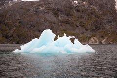 Iceberg nel fiordo di Nuuk Immagini Stock Libere da Diritti