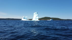 Iceberg nella baia della trinità, Terranova Fotografie Stock
