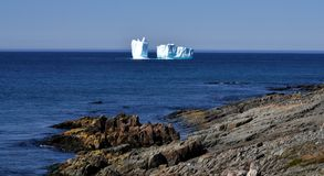 Iceberg in Newfoundland Royalty Free Stock Images