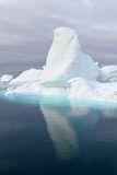 Iceberg with nice reflection royalty free stock images