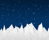 Iceberg in night sky, Stock Photography