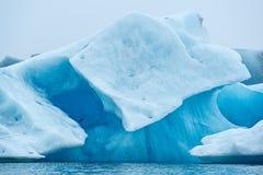 Iceberg no lago Jokulsarlon, Islândia fotografia de stock