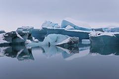 Iceberg no parque nacional de Vatnajokull, Islândia fotos de stock royalty free