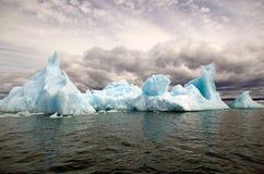 Iceberg no San Rafael Lagoon, Patagonia, o Chile fotos de stock royalty free