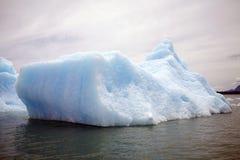 Iceberg no San Rafael Lagoon, Patagonia, o Chile Fotografia de Stock Royalty Free