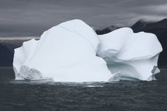 Iceberg in ocean Royalty Free Stock Images