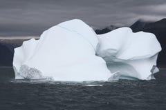 Iceberg in ocean. Close up of iceberg in Arctic ocean, Denmark Strait, Greenland Royalty Free Stock Images