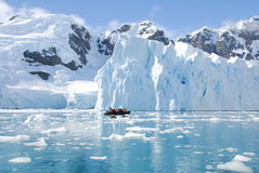 Iceberg off the coast of Antarctica Royalty Free Stock Photography