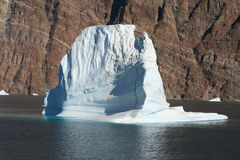 Iceberg off Greenland Royalty Free Stock Photos