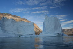 Iceberg off Greenland Royalty Free Stock Photo