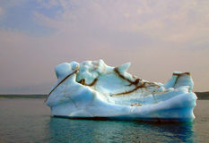 Iceberg off Newfoundland Royalty Free Stock Images