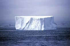 Iceberg in Paradise Harbor, Antarctica Royalty Free Stock Images