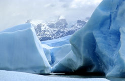 An iceberg in Patagonia Royalty Free Stock Images