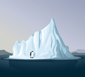 Iceberg with penguin Stock Images