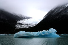Iceberg pequeno no parque nacional do Los Glaciares, Argentina Fotos de Stock