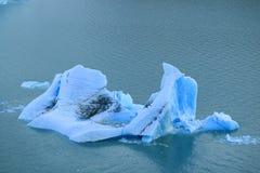 Iceberg que flota en el lago Argentino, Perito Moreno Glacier, parque nacional del Los Glaciares, EL Calafate, Patagonia, la Arge fotos de archivo libres de regalías