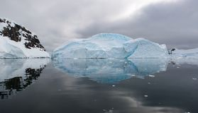 Iceberg reflection Stock Image