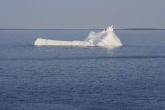 Iceberg Resembling Sinking Ship Stock Images