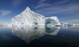 Iceberg-riflessione Fotografia Stock