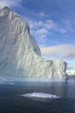 Iceberg in Scoresbysund in Greenland. Iceberg in Scoresbysund in eastern Greenland Stock Photos