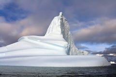 Iceberg in Scoresbysund - Greenland. Iceberg in Scoresbysund in eastern Greenland Royalty Free Stock Image