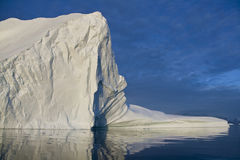 Iceberg in Scoresbysund in Greenland Royalty Free Stock Photos