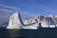 Iceberg - Scoresbysund - Greenland Royalty Free Stock Photo