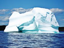 Iceberg in sea Royalty Free Stock Photo