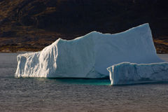 Iceberg with Shadows Stock Photos