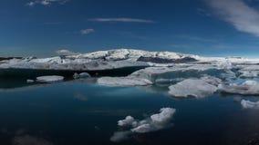The Iceberg. Some icebergs at Jokulsarlon lagoon in Iceland Stock Image