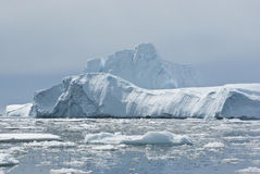 Iceberg in the Southern Ocean - 1. Iceberg in Antarctic Ocean - 1 Royalty Free Stock Photos