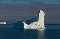 Iceberg in southern ocean off antarctic peninsula Stock Photography