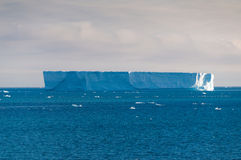 Iceberg in southern ocean off antarctic peninsula Stock Image