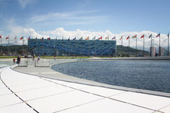 Iceberg stadium Olympic Park at XXII Winter Olympic Games Royalty Free Stock Images