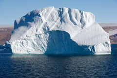Iceberg in sunlight Royalty Free Stock Photography