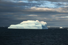 Iceberg surrealistic blue Stock Photography