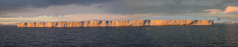 Iceberg Tabular Imagem de Stock