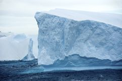 Iceberg tabular Ant3artida Imagenes de archivo