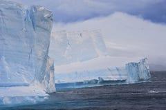 Iceberg tabular Ant3artida Foto de archivo libre de regalías