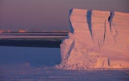 Iceberg tabulare immagini stock libere da diritti