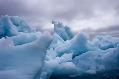 Iceberg tormentoso Fotografia de Stock