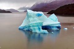 Iceberg, Torres del Paine Fotografia Stock