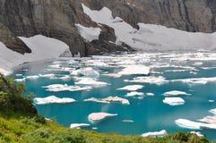 Iceberg Trail in Glacier National Park, Montana, USA Stock Photos