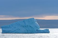 Iceberg in the Twilight Royalty Free Stock Photography